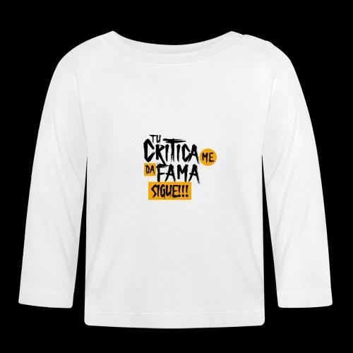 CRITICA - Camiseta manga larga bebé