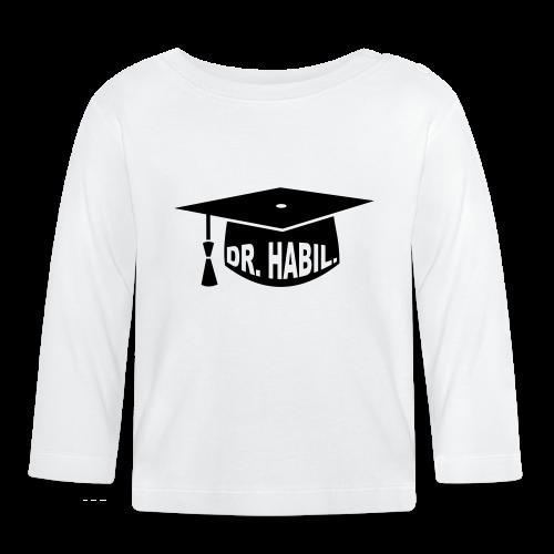 Doktorhut Professor Habilitation Geschenk - Baby Langarmshirt