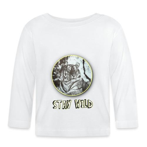 tiger5 - Baby Langarmshirt