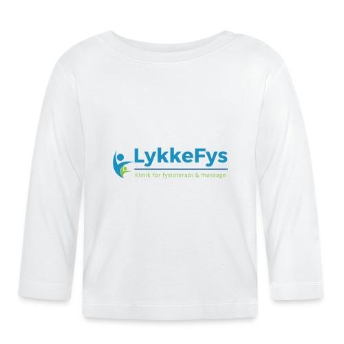 Lykkefys Esbjerg - Langærmet babyshirt