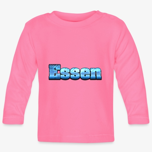 Klein Essen - Baby Langarmshirt