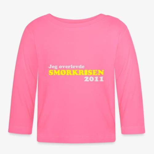Smørkrise 2011 - Norsk - Langarmet baby-T-skjorte