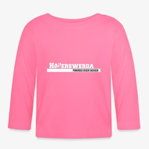 Logo Hoierswerda transparent - Baby Langarmshirt