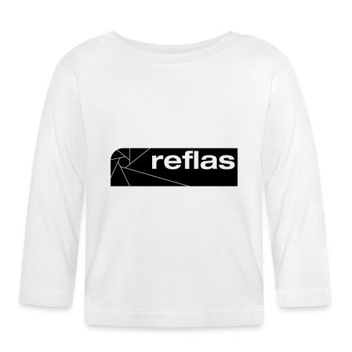 Reflas Clothing Black/Gray - Maglietta a manica lunga per bambini