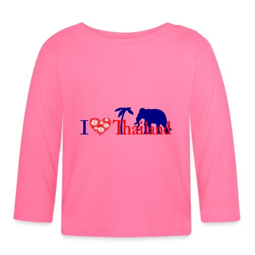 I love Thailand - Baby Long Sleeve T-Shirt