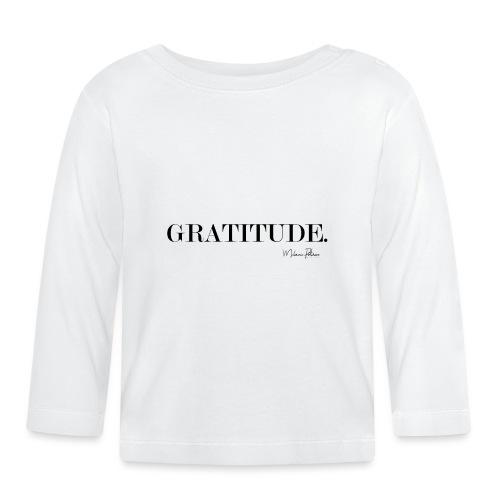 GRATITUDE - T-shirt manches longues Bébé