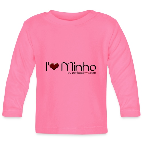 I Love Minho - T-shirt manches longues Bébé
