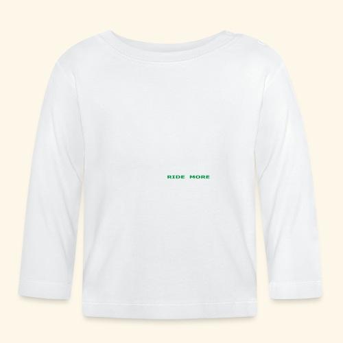 WLRM Schriftzug white png - Baby Langarmshirt