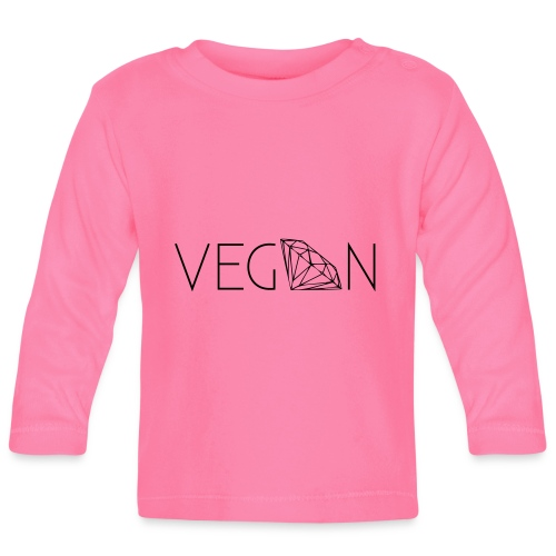 vegan - T-shirt manches longues Bébé