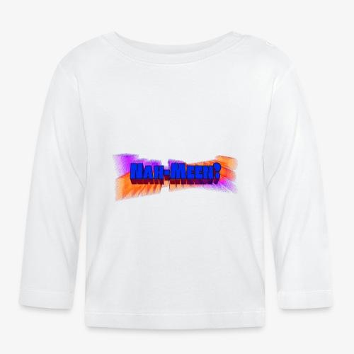 Nah meen blue - Baby Long Sleeve T-Shirt