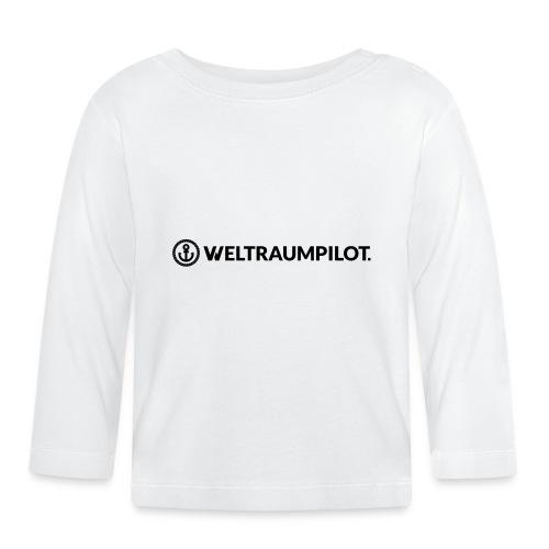 weltraumpilotquer - Baby Langarmshirt