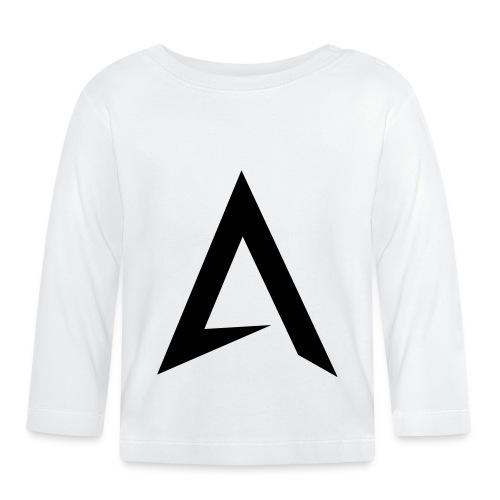 alpharock A logo - Baby Long Sleeve T-Shirt