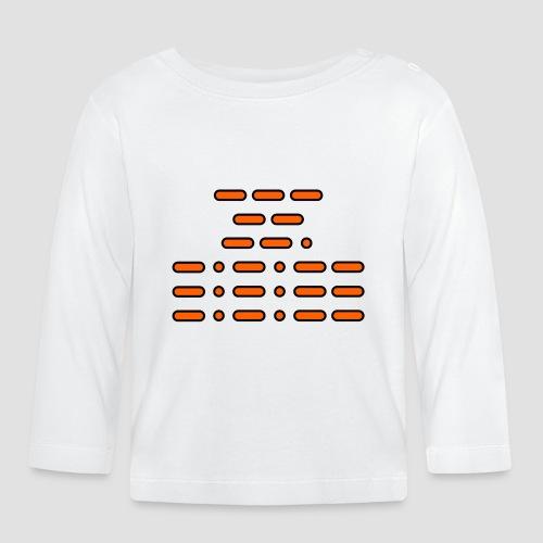 OMG!!! (orange/black/white) - Baby Long Sleeve T-Shirt