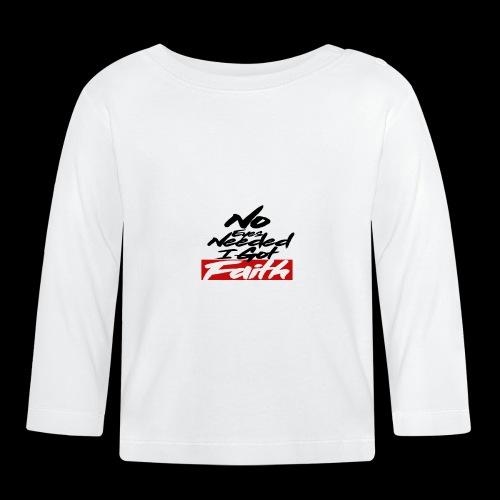 I BELIEVE - Camiseta manga larga bebé