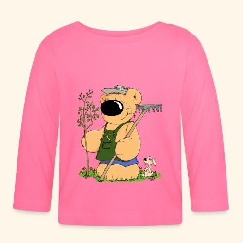 Gärtner Bär - Baby Langarmshirt