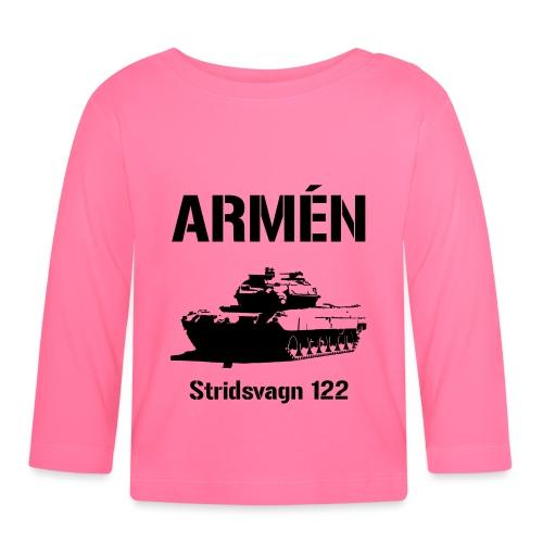ARMÉN - Stridsvagn 122 - Långärmad T-shirt baby