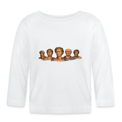 Popiersia cesarskie | Imperial busts - Koszulka niemowlęca z długim rękawem