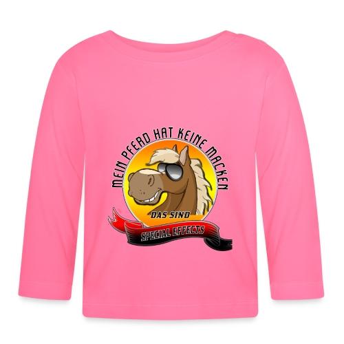 Mein Pferd hat keine Macken Special Effects - Baby Langarmshirt