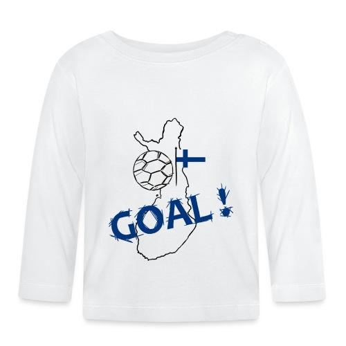 football Finlande - T-shirt manches longues Bébé