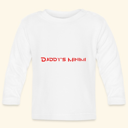 Daddys Minimi - Baby Langarmshirt
