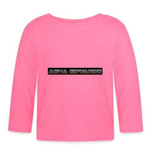 Asha_Edwards_Merch_ - Baby Long Sleeve T-Shirt