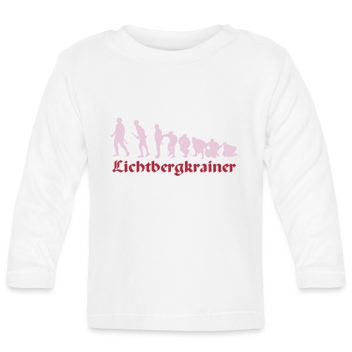 Krainolution-Schwarz - Baby Langarmshirt