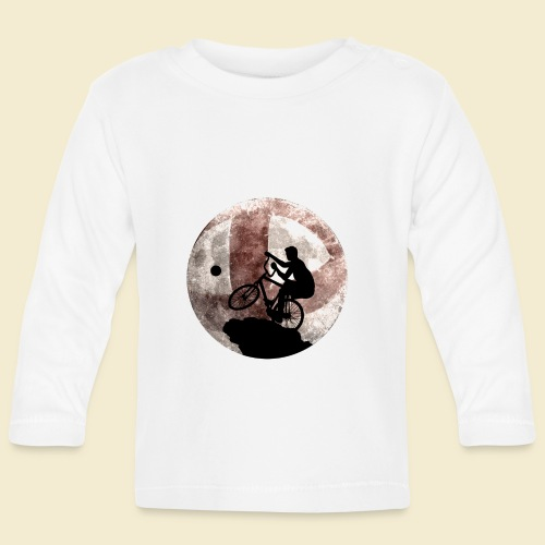 Radball | Cycle Ball Moon - Baby Langarmshirt