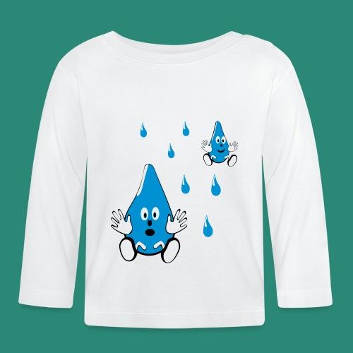 Tropfen - Baby Langarmshirt