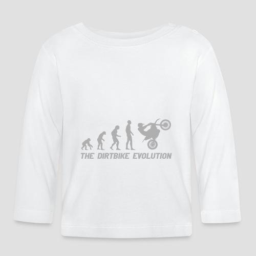 Dirtbike Evolution Gray - Långärmad T-shirt baby