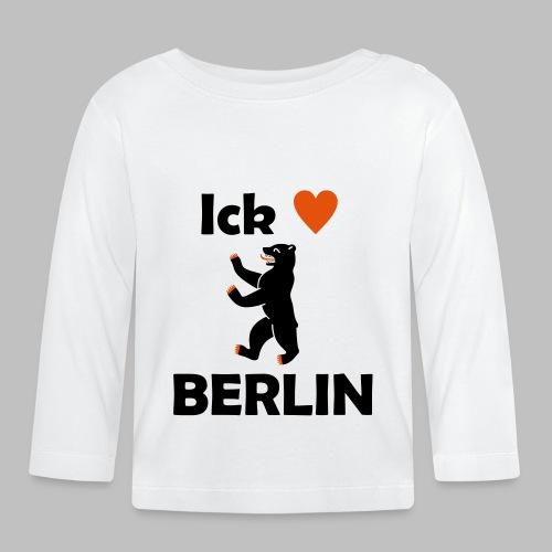 Ick liebe ❤ Berlin - Baby Langarmshirt