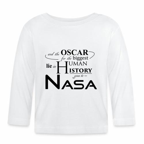 Flat Earth Nasa - Baby Langarmshirt