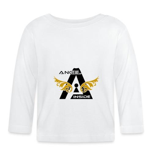 ANGEL INSIDE2-01 - Maglietta a manica lunga per bambini