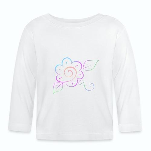 Tonalidades de en flor - Camiseta manga larga bebé
