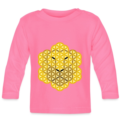 The Lion Of Life - Alpha Male, Mane 01. - Baby Long Sleeve T-Shirt