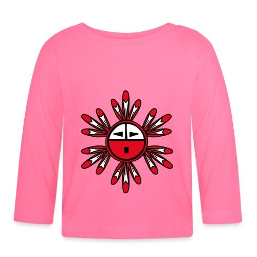 Hopi Kachina Sun Symbol - Baby Long Sleeve T-Shirt