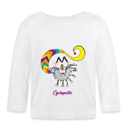 Cyclopatte - T-shirt manches longues Bébé