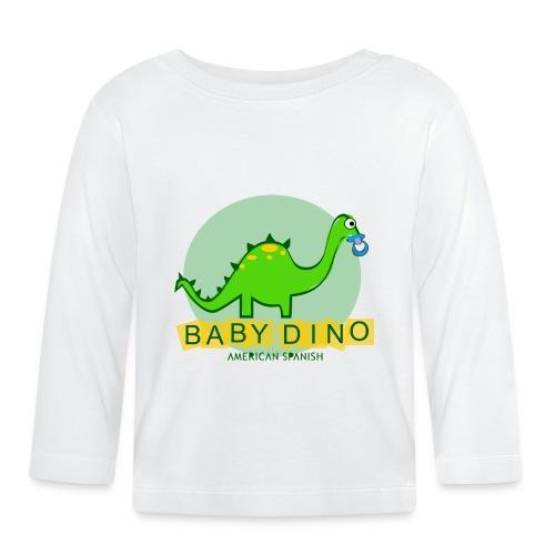 American Spanish Baby Dino - Camiseta manga larga bebé