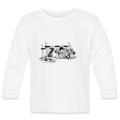 PonyFall Thelwell Cartoon - Baby Long Sleeve T-Shirt