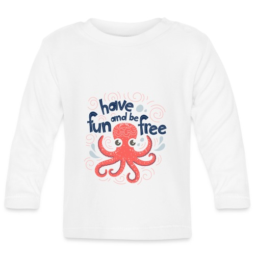 HaveFunAndBeFree - T-shirt manches longues Bébé