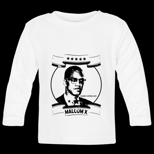 Malcom X Classic - Baby Langarmshirt