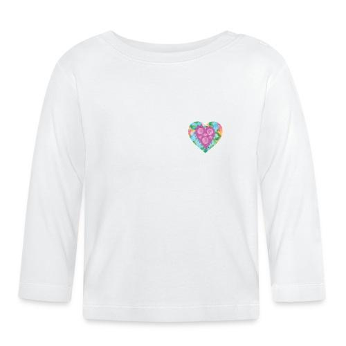 Heart Bubbles make you float - Baby Long Sleeve T-Shirt