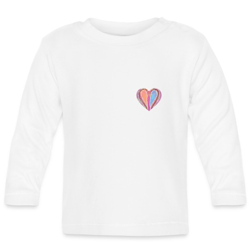 Hearts dont split, they get wings - Baby Long Sleeve T-Shirt