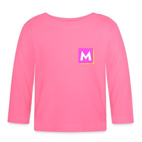 ByMINA logo - Langærmet babyshirt