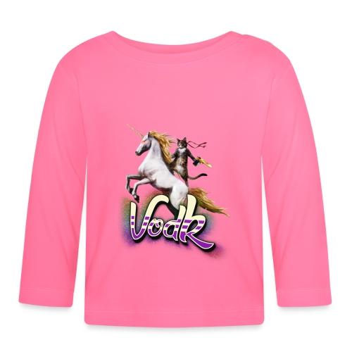VodK licorne png - T-shirt manches longues Bébé