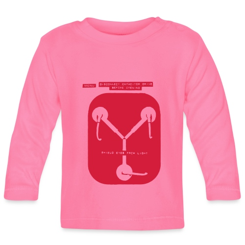 Back To The Future DeLorean Flux Capacitor - Baby Long Sleeve T-Shirt