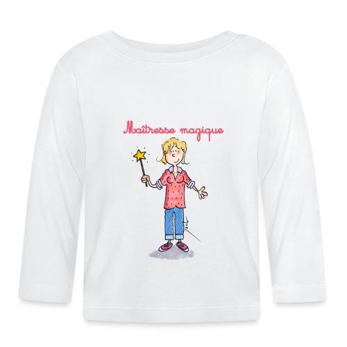 Danger ecole maîtresse magique [mp] - T-shirt manches longues Bébé