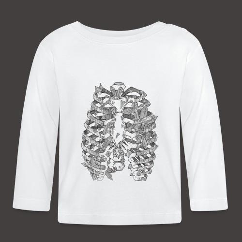 La Cage Thoracique de Cristal - T-shirt manches longues Bébé