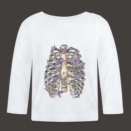 La Cage Thoracique de Cristal couleur - T-shirt manches longues Bébé