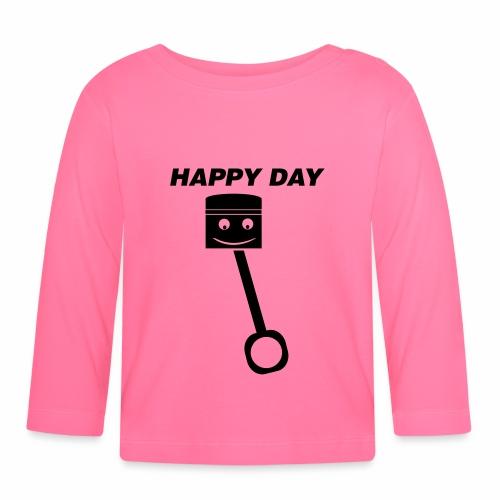 Happy Day - Baby Langarmshirt