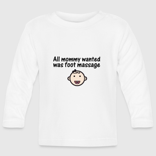 baby png - Langærmet babyshirt